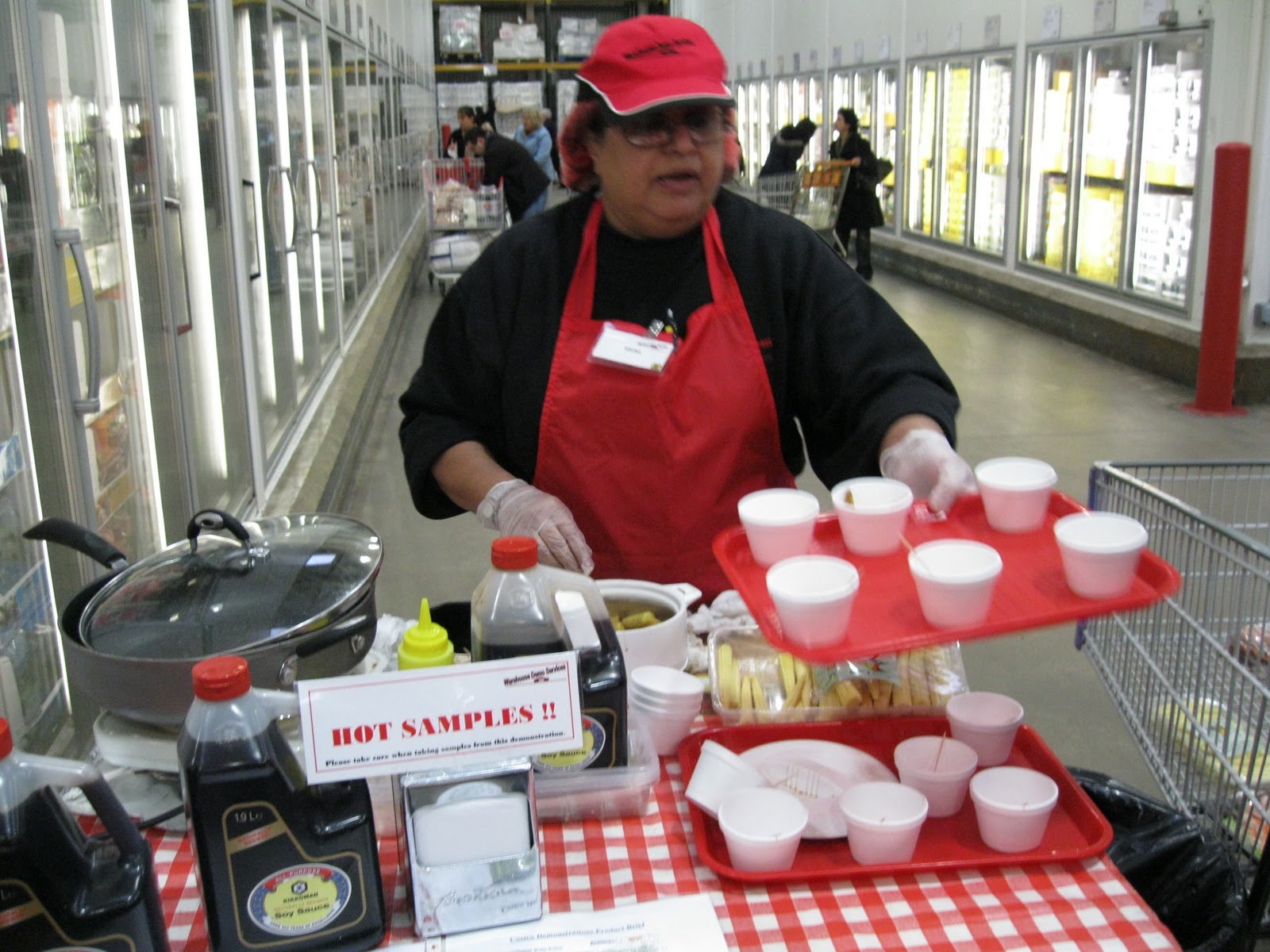 Many college students admit to living off of costco free samples.