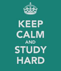 My advice to those of you taking exams soon!